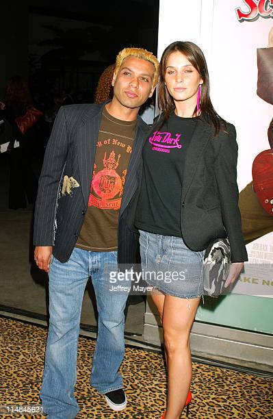 """Tony Kanal & guest during """"School of Rock"""" Premiere - Arrivals at Cinerama Dome in Hollywood, California, United States."""