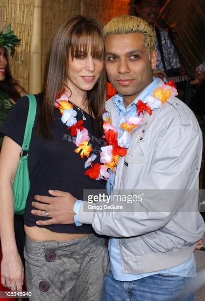 """Tony Kanal of No Doubt and guest during """"50 First Dates"""" Premiere at Mann Village Theatre in Westwood, California, United States."""
