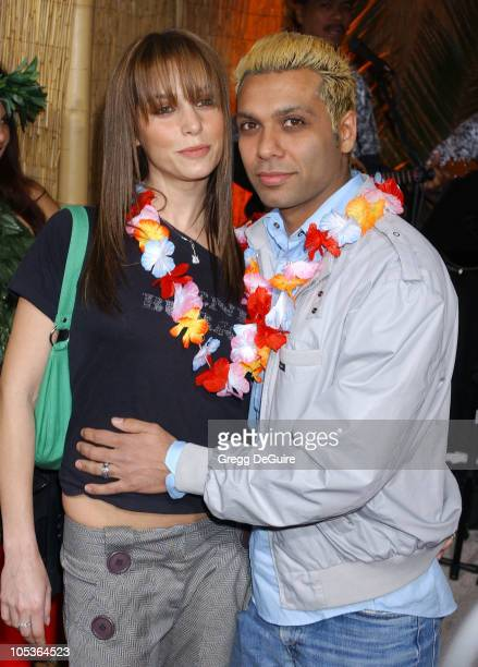 Tony Kanal of No Doubt and guest during '50 First Dates' Premiere at Mann Village Theatre in Westwood California United States