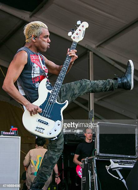 Tony Kanal of No Doubt performs during 2015 New Orleans Jazz & Heritage Festival - Day 5 at Fair Grounds Race Course on May 1, 2015 in New Orleans,...