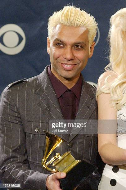Tony Kanal of No Doubt winner of Best Pop Performance by a Duo or Group with Vocal Award
