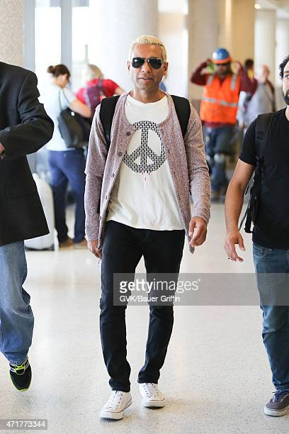 Tony Kanal seen at LAX on April 30, 2015 in Los Angeles, California.