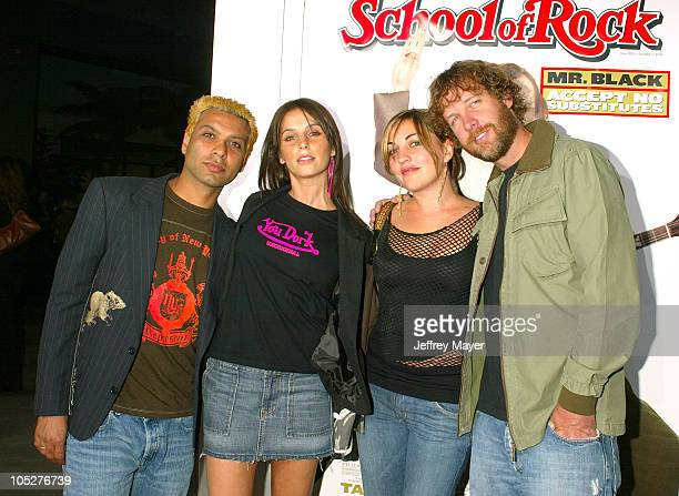 """Tony Kanal, Tom Dumont & guests during """"School of Rock"""" Premiere - Arrivals at Cinerama Dome in Hollywood, California, United States."""