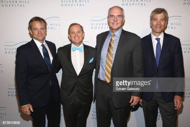 Tony Kiniry Trey Laird Todd Dodge and Jim Hodel attend Silver Hill Hospital 2017 Giving Hope Gala at Cipriani 42nd Street on November 13 2017 in New...
