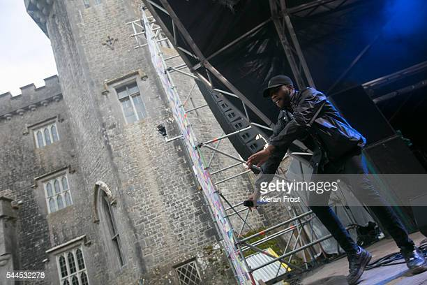 Tony Konstone of HHare Squead performs at CastlePalooza at Charville Castle on July 2, 2016 in Tullamore, Ireland.