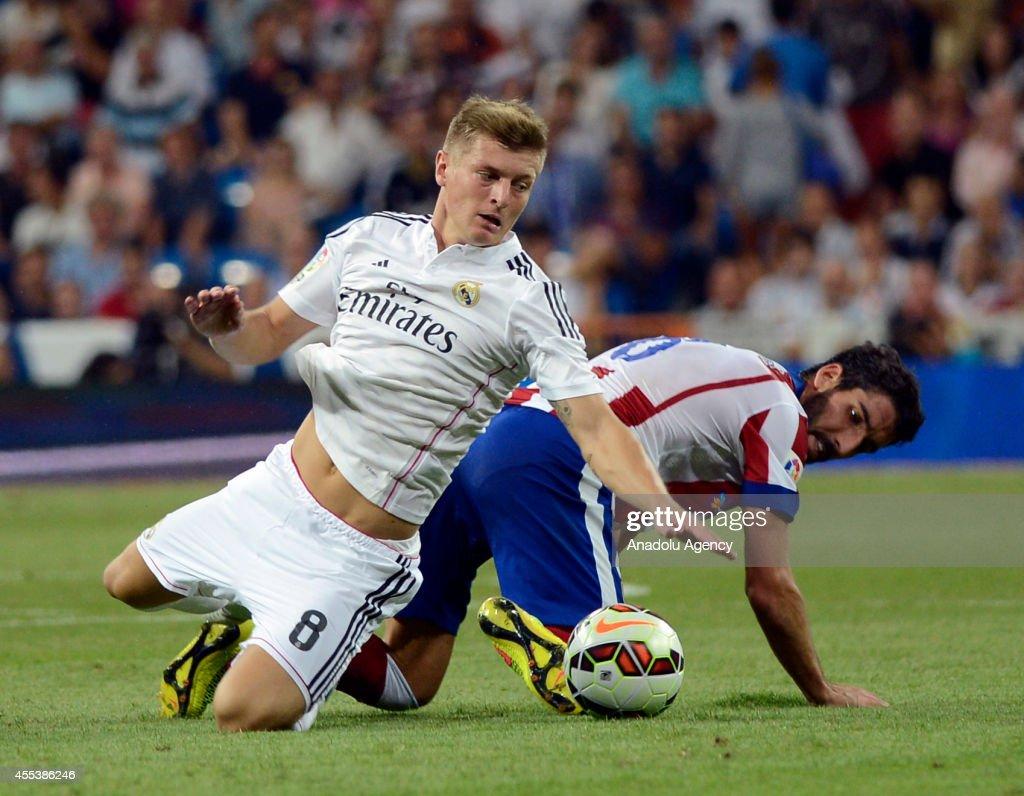 Real Madrid v Atletico Madrid : News Photo