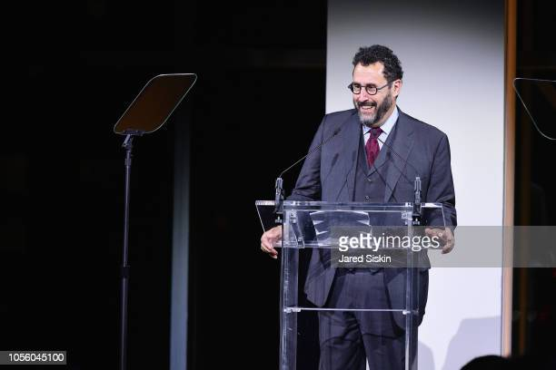 Tony Kushner attends The 12th Annual Golden Heart Awards at Spring Studios on October 16 2018 in New York City