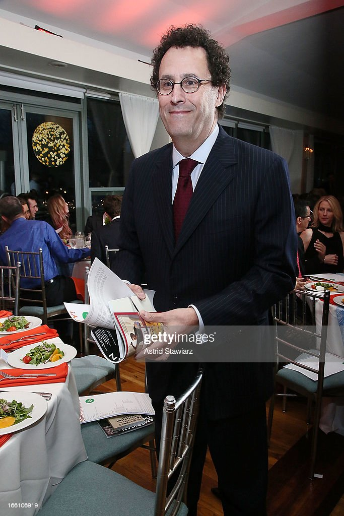Tony Kushner attends the Cocktail Reception at Soho Rep's 2013 Spring Gala on April 8, 2013 in New York, United States.