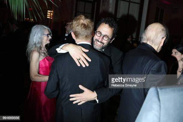 Tony Kushner attends the Tony Awards Gala at the Plaza on June 10 2018 in New York New York