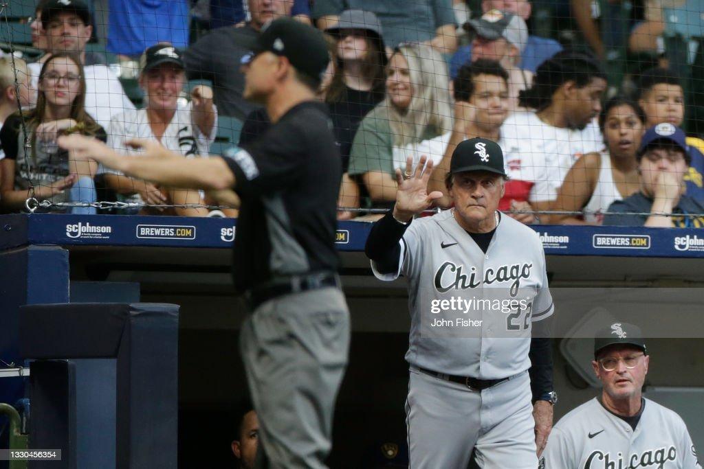 Chicago White Sox v Milwaukee Brewers : News Photo