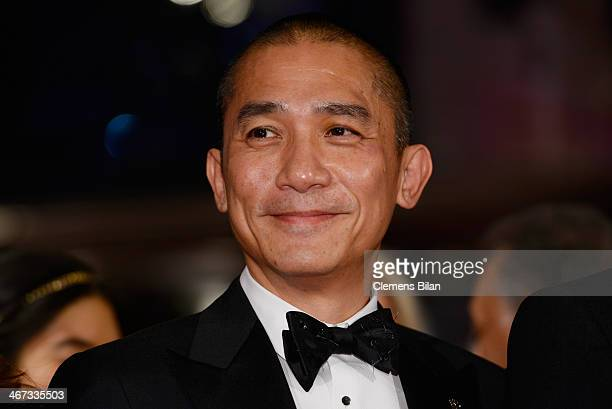 Tony Leung attends 'The Grand Budapest Hotel' Premiere and opening ceremony during the 64th Berlinale International Film Festival at Berlinale Palast...