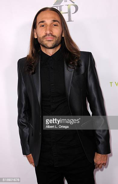 Tony Livadas arrives for the Premiere Of JR Productions' Halloweed held at TCL Chinese 6 Theatres on March 15 2016 in Hollywood California