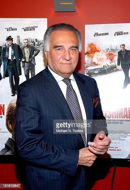Tony Lo Bianco attends the premiere of 'Kill the Irishman' at Landmark's Sunshine Cinema on March 7 2011 in New York City