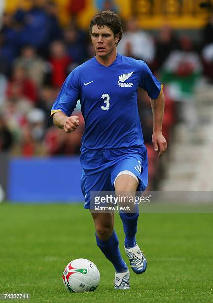 Tony Lochhead of New Zealand in action during the Nationwide International Friendly match between Wales and New Zealand at Racecourse Ground on May...