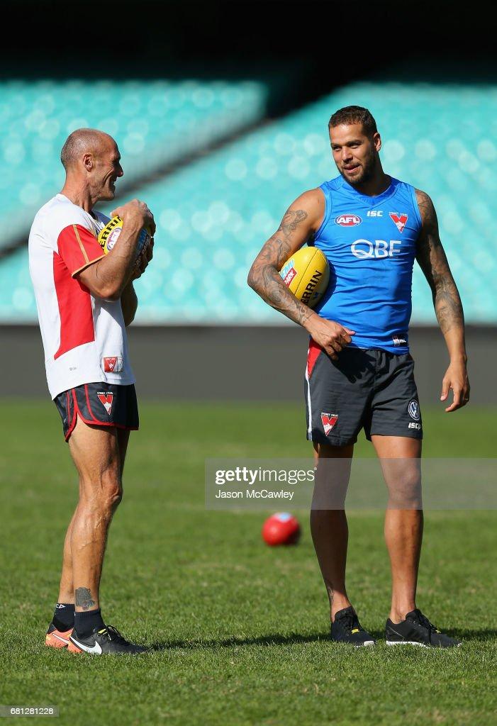 Sydney Swans Training Session : News Photo