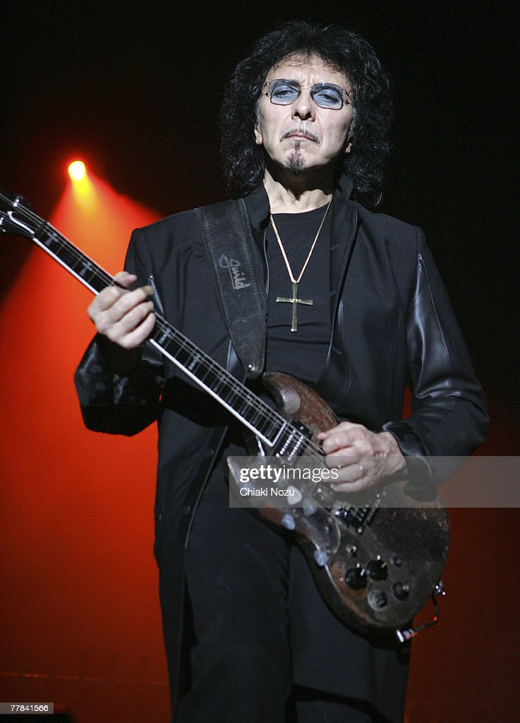 Tony Lommi of the band Heaven and Hell during a performance at Wembley Arena on November 10, 2007 in London, England.
