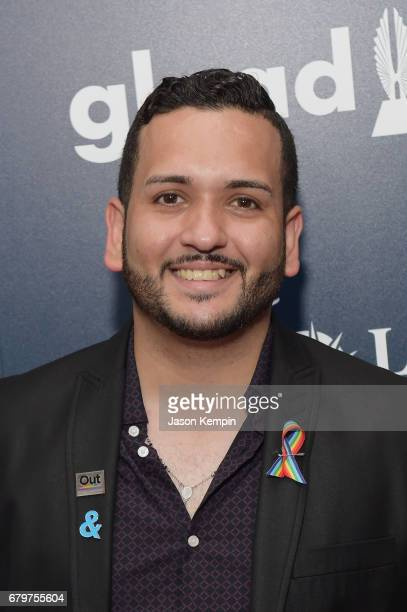 Tony Marrero attends 28th Annual GLAAD Media Awards at The Hilton Midtown on May 6 2017 in New York City