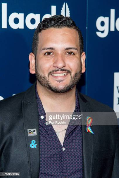 Tony Marrero attends the 28th Annual GLAAD Awards at New York Hilton Midtown on May 6 2017 in New York City