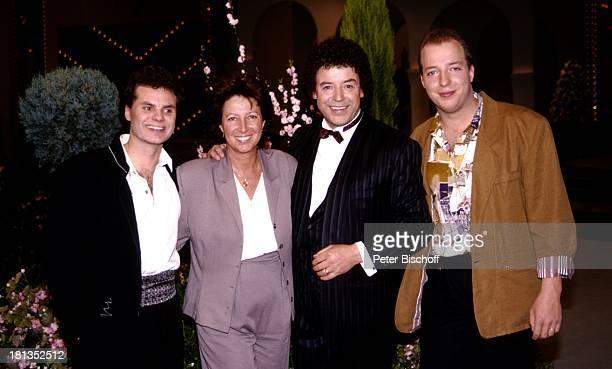 Tony Marshall Ehefrau Gaby Marshall Sohn Pascal Hilger Roberto Sacca ZDFMusik Show 'Laß das mal den Tony machen' 5Show Deutschland Europa Volksmusik...