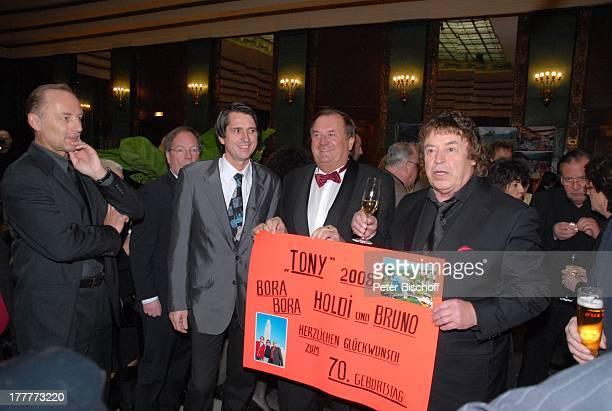 "Tony Marshall , Geburtstagsgäste, †berraschungs-Geburtstags-Party zum 70. Geburtstag von Tony Marshall, ""Kurhaus Baden-Baden"", Baden-Württemberg,..."