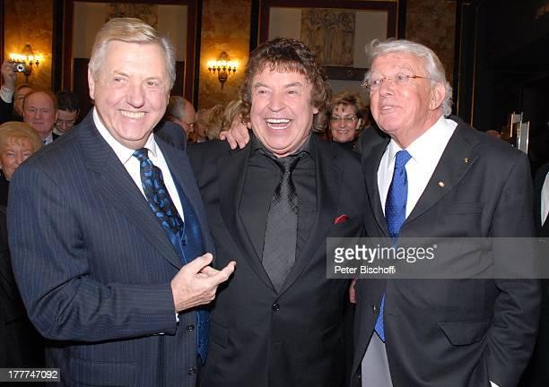 """Tony Marshall , Karl Moik , Dieter Thomas Heck , †berraschungs-Geburtstags-Party zum 70. Geburtstag von Tony Marshall, """"Kurhaus Baden-Baden"""",..."""