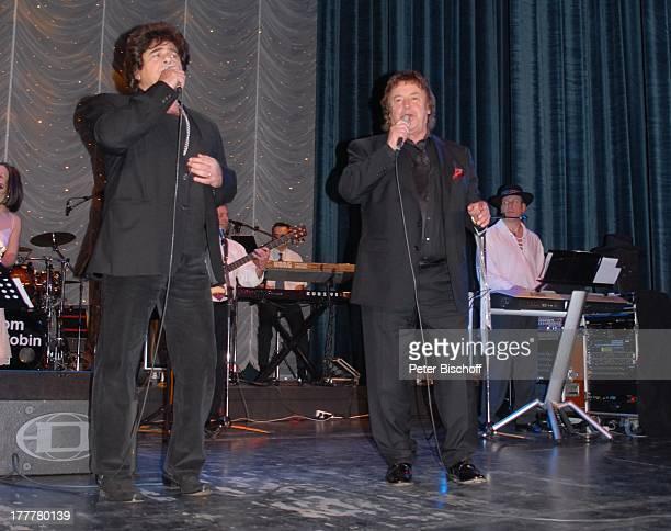 "Tony Marshall , Ricky Shayne, ganz rechts: Bandleader Tom Robbins, Geburtstags-Party zum 70. Geburtstag von T O N Y M A R S H A L L, ""Kurhaus..."