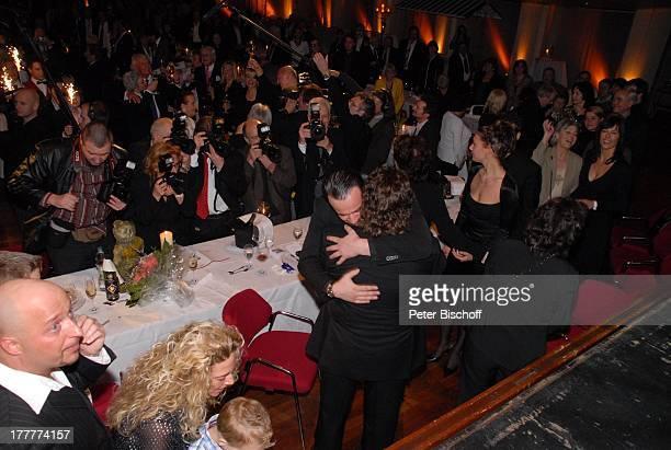 Tony Marshall Sohn Pascal Hilger und Freundin Kirstin mit Enkel Maurice Enkel Julius Ehefrau Gaby Enkelin Mia Sohn Marc Schwiegertochter Anette...