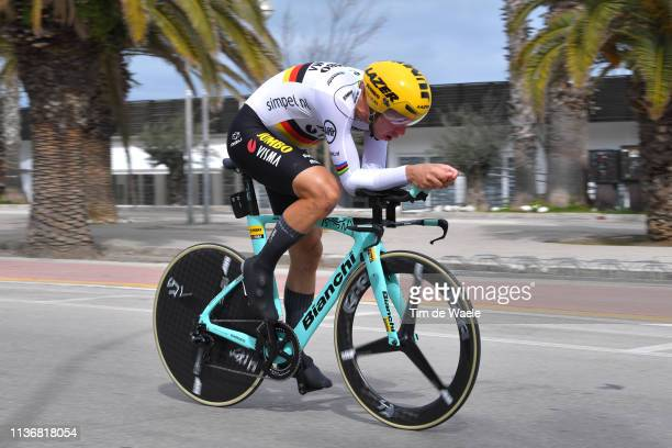 Tony Martin of Germany and Team Jumbo - Visma / during the 54th Tirreno-Adriatico 2019, Stage 7 a 10,05km Individual Time Trial stage from San...
