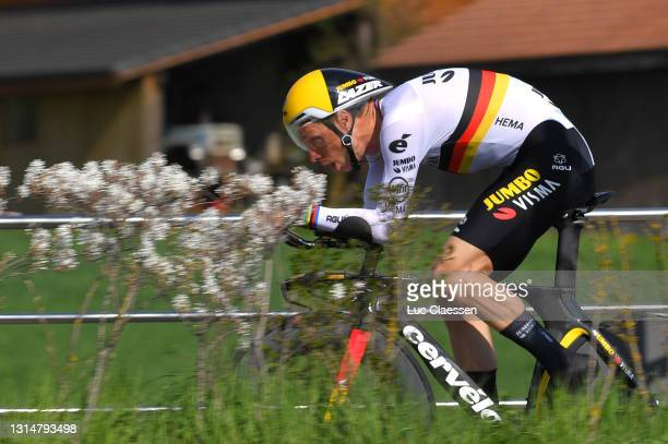 Tony Martin of Germany and Team Jumbo - Visma during the 74th Tour De Romandie 2021, Prologue a 4,05km Individual Time Trial stage from Oron to Oron...