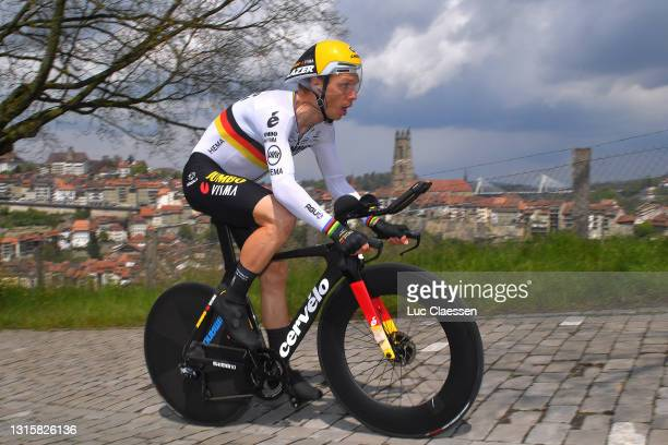 Tony Martin of Germany and Team Jumbo - Visma during the 74th Tour De Romandie 2021, Stage 5 a 16,19km Individual Time Trial stage from Fribourg to...