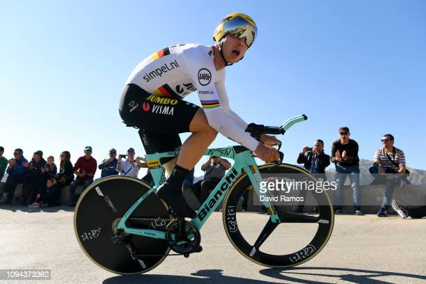 Tony Martin of Germany and Team Jumbo-Visma / Public / during 70th Volta a la Comunitat Valenciana 2019 - Stage 1 a 10,2km Individual Time Trial...