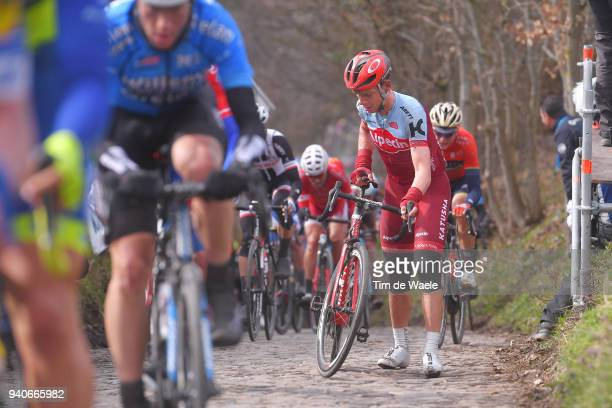 Tony Martin of Germany and Team Katusha Alpecin / during the 102nd Tour of Flanders 2018 Ronde Van Vlaanderen a 2647km race from Antwerpen to...
