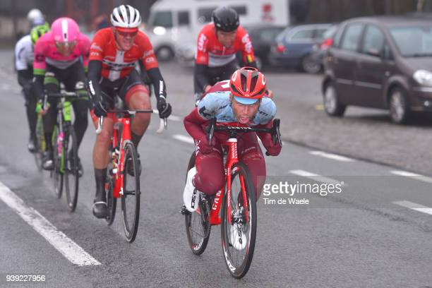 Tony Martin of Germany and Team Katusha Alpecin / during the 73rd Dwars door Vlaanderen 2018 a 1801km race from Roeselare to Waregem on March 28 2018...