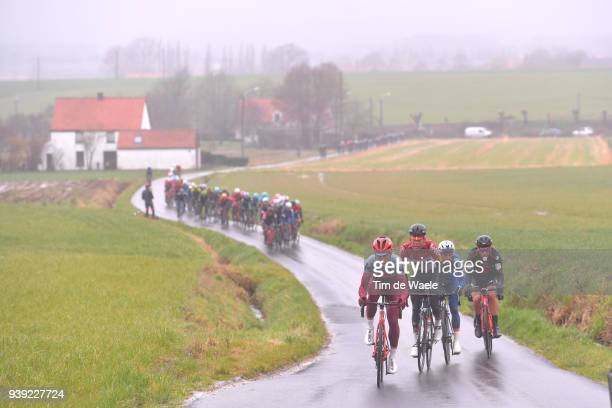 Tony Martin of Germany and Team Katusha Alpecin / Iljo Keisse of Belgium and Team QuickStep Floors / elle Wallays of Belgium and Team Lotto Soudal /...