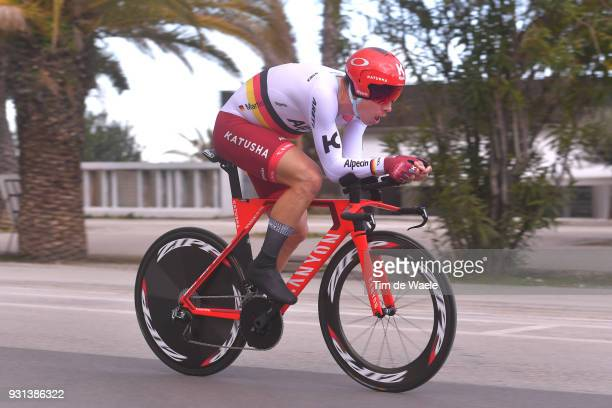 Tony Martin of Germany during the 53rd TirrenoAdriatico 2018 Stage 7 a 105km Individual Time Trial stage in San Benedetto Del Tronto on March 13 2018...