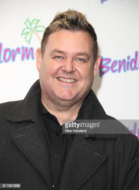 Tony Maudsley during a photocall for ITV show 'Benidorm ' which is celebrating it's 10th anniversary at The Curzon Mayfair on January 29 2018 in...