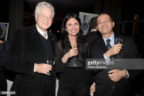 Tony May Grace and Massimo Golota attend ITALIAN TRADE COMMISSION Kicks Off MADE IN ITALY On Madison at The Morgan Library Museum on December 10 2009...