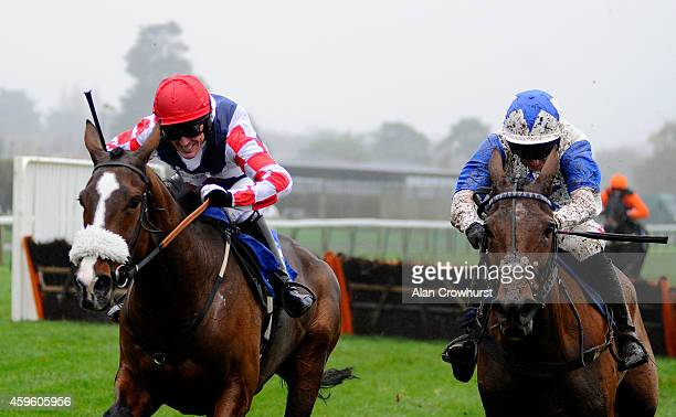 Tony McCoy riding Southfield Royale clear the last to win The Free Tips At raceclearcouk Novices' Hurdle Race on his return to race riding after a...