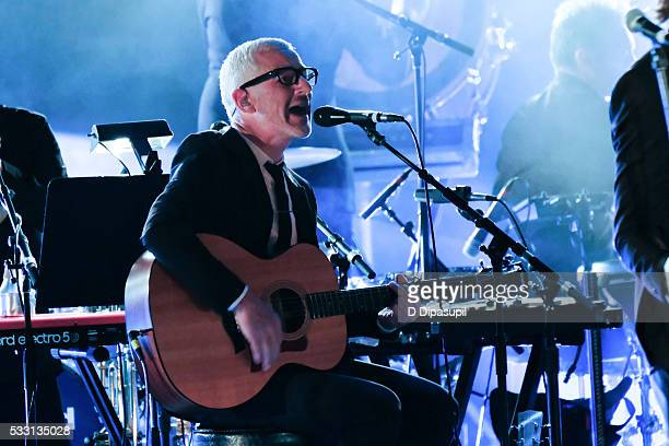 Tony McGuinness of Above Beyond performs at The Beacon Theatre on May 20 2016 in New York City