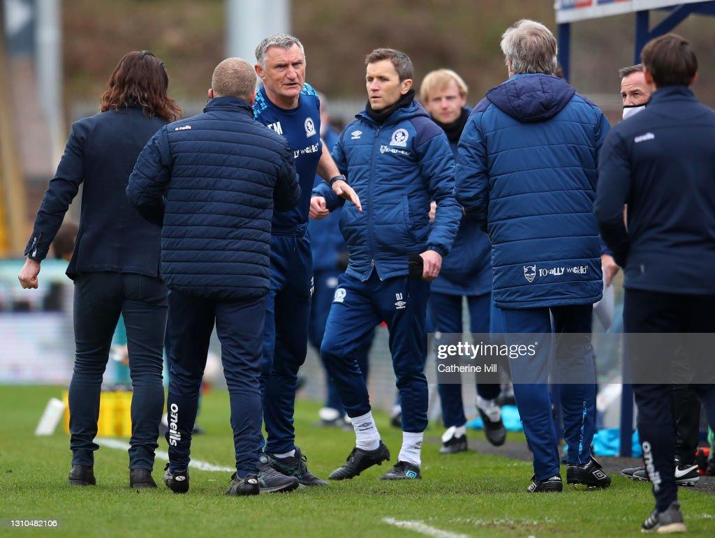 Wycombe Wanderers v Blackburn Rovers - Sky Bet Championship : News Photo