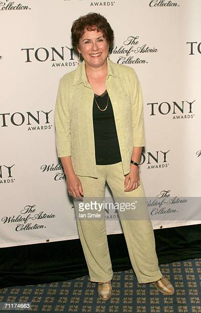 Tony nominee Judy Kaye poses at The Tonys Awards Honor Presenters And Nominees at Waldorf Astoria in New York on June 10 2006 in New York