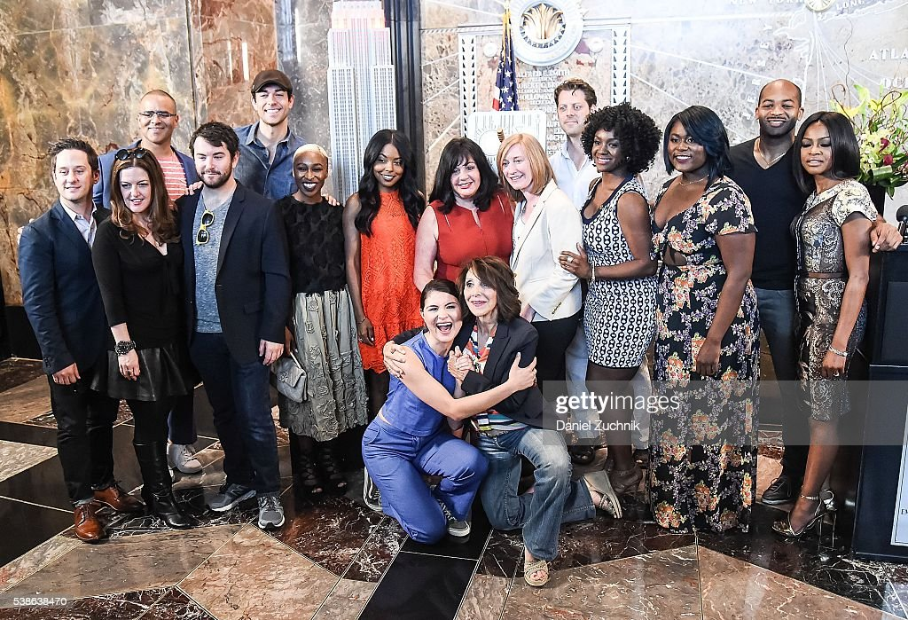 2016 Tony Nominees Light The Empire State Building