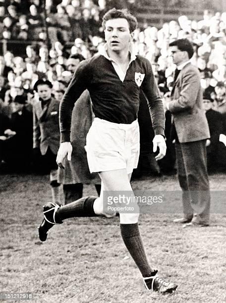 Tony O'Reilly Irish rugby international circa March 1956