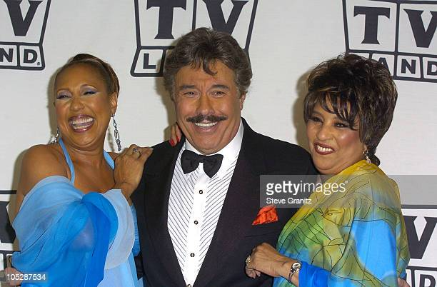 Tony Orlando and Dawn during 2nd Annual TV Land Awards Press Room at The Hollywood Palladium in Hollywood CA United States