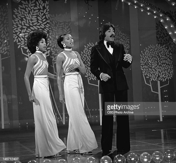 DAWN Tony Orlando and Dawn perform Image dated January 26 1975