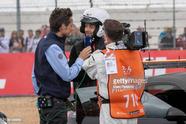 Tony Parker attends the 24 Hours of Le Mans race on June 15, 2019 in Le Mans, France.