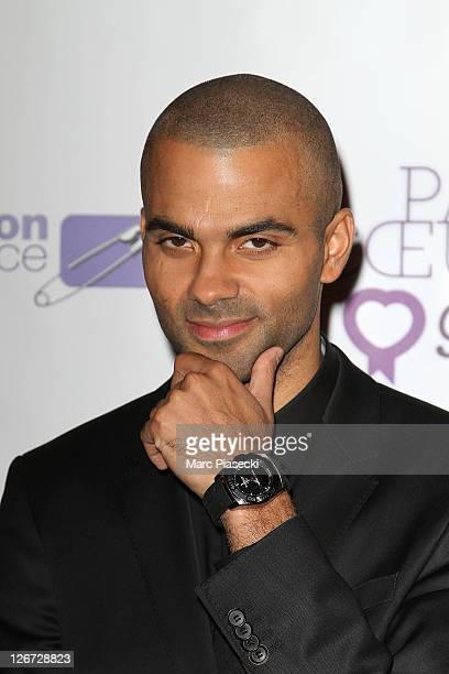 Tony Parker attends the 'ParCoeur Gala' at Mairie de Paris on September 26 2011 in Paris France
