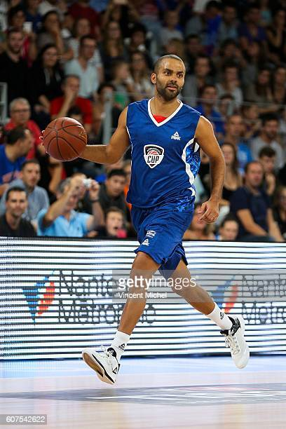 Tony Parker during the Appart City Cup between Hermine Nantes and Nanterre on 18th September 2016 Photo by Vincent Michel / Icon Sport