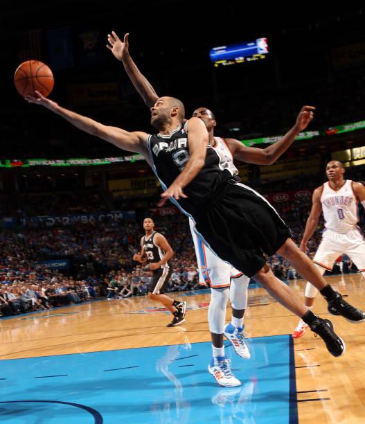 Tony Parker of the San Antonio Spurs