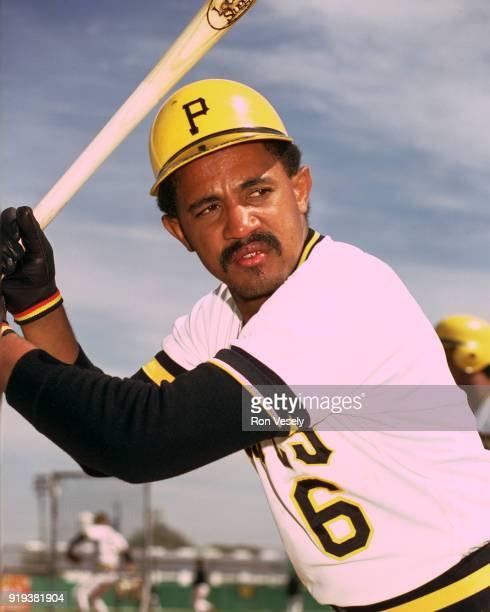 Tony Pena of the Pittsburgh Pirates poses for a photo before a major league baseball spring training game in Bradenton, Florida prior to the 1986...